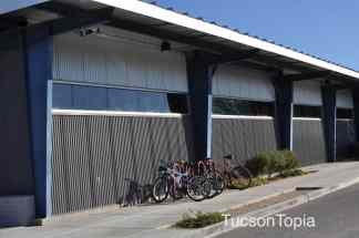 classroom buildings at Sonoran Science Academy Tucson