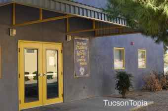 elementary school building at Sonoran Science Academy Tucson