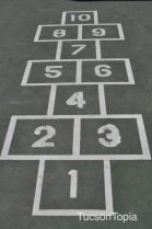 hopscotch at La Madera Park