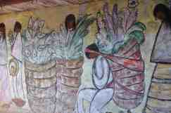 mural on chapel walls at DeGrazia Gallery in the Sun
