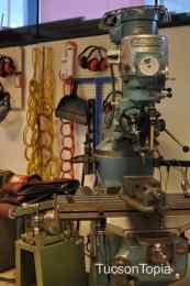 robotics equipment at Sonoran Science Academy