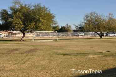 soccer field at Sonoran Science Academy Tucson