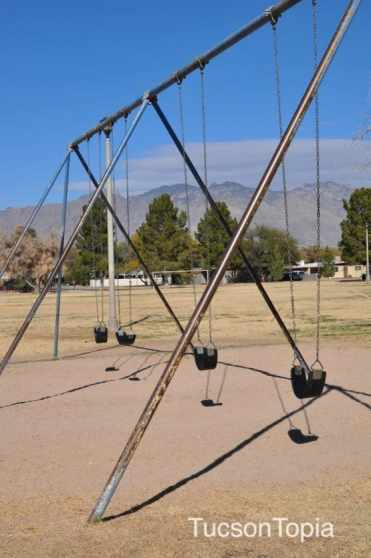 swings at La Maders Park