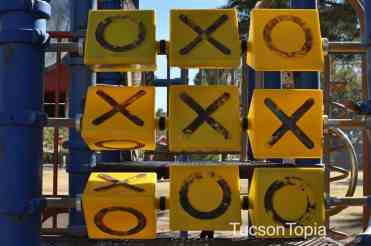 tic tac toe at La Madera Park