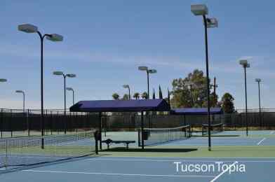 31 immaculate tennis courts at Hilton Tucson El Conquistador