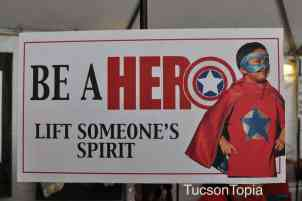 Be a Hero at Tucson Festival of Books
