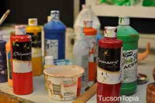 art supplies at University High School