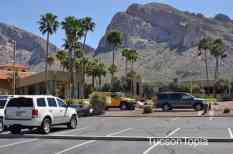 checkin at Hilton Tucson El Conquistador