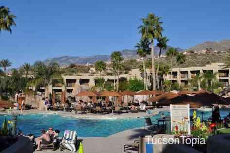 main swimming pool at Hilton Tucson El Conquistador