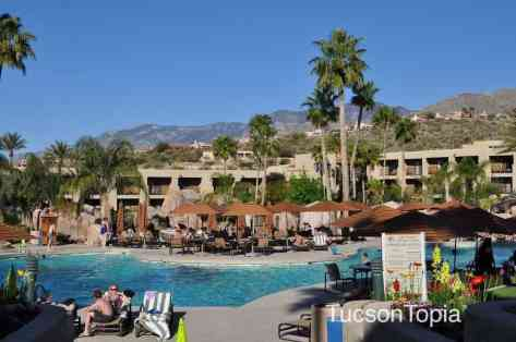 main swimming pool at Hilton Tucson El Conquistador