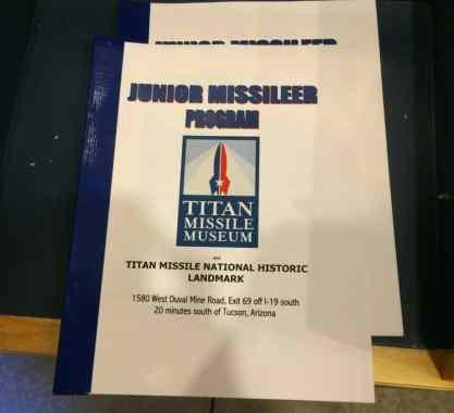Junior Missileer Program at Titan Missile Museum
