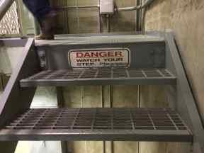 Steps at Titan Missile Museum