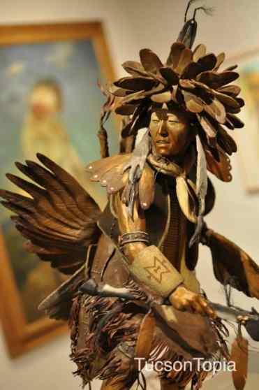 bronze art at Tucson Museum of Art