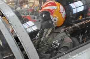 pilot at Pima Air _ Space Museum
