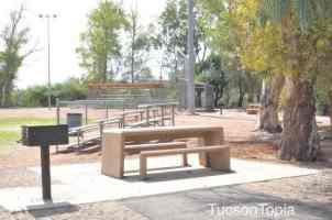 8 picnic tables at McDonald Park
