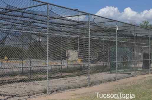 batting cages at McDonald Park