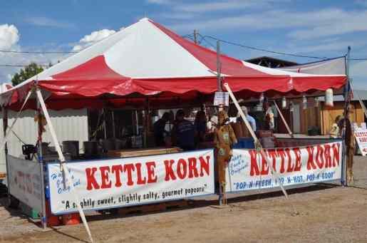Kettle Korn at Apple Annie's