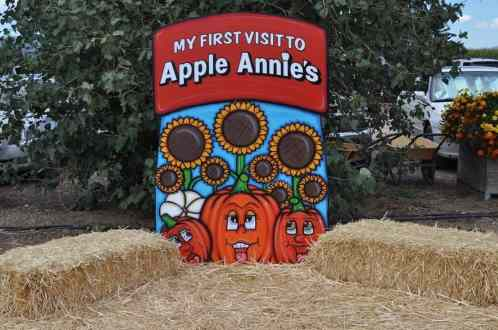 My First Visit to Apple Annie's