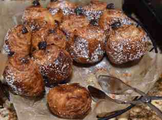 chocolate croissants at CORE Kitchen