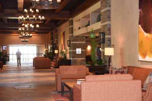 lobby at Ritz-Carlton Dove Mountain