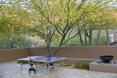 ping pong at Ritz-Carlton Dove Mountain