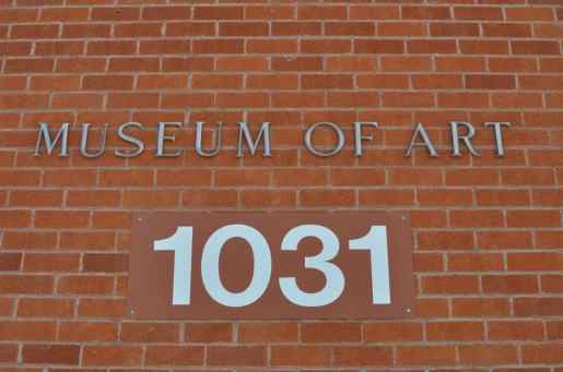 UA Museum of Art at 1031 N Olive Rd