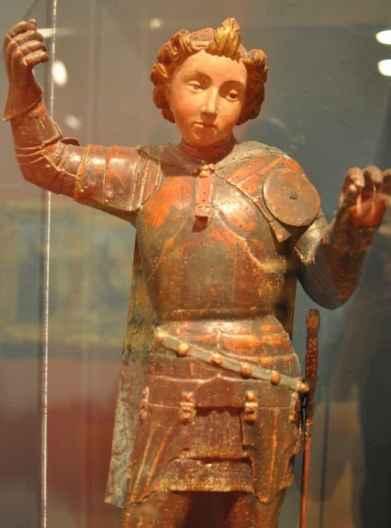 soldier sculpture at UA Museum of Art