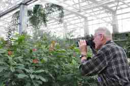 photo opps at Butterfly Wonderland