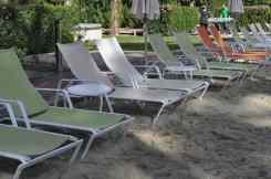 sun chairs at Hyatt Regency Scottsdale