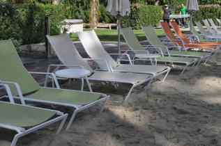 sun chairs at Hyatt Regency Scottsdale