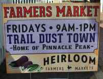 Farmers Market at Trail Dust Town