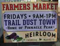 Farmers Market at Trail Dust Town