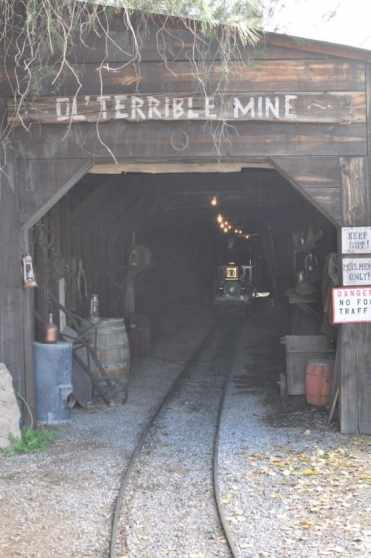 Ol' Terrible Mine at Trail Dust Town