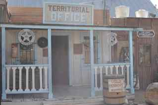 Territorial Office at Trail Dust Town