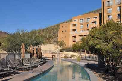 lazy river and waterslide at JW Marriott Tucson Starr Pass