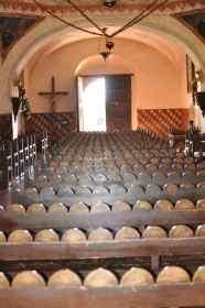 pews at Mission San Xavier del Bac