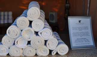towels at JW Marriott Tucson Starr Pass