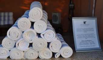 towels at JW Marriott Tucson Starr Pass
