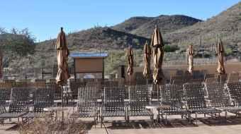 winter subathing at JW Marriott Tucson Starr Pass
