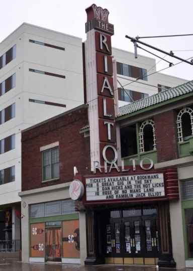 The Rialto Theatre in Downtown Tucson