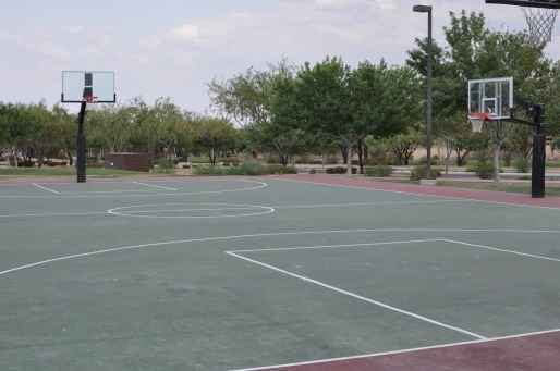 basketball courts in Rancho Sahuarita