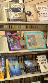 hardcover fiction at the Book Barn