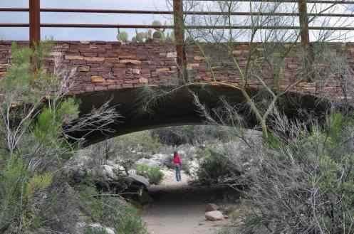bridge at Pima Canyon