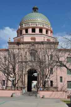 old Pima County Courthouse in Tucson
