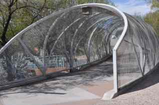 ride thru the Rattlesnake Bridge on Tucson Bike Tours