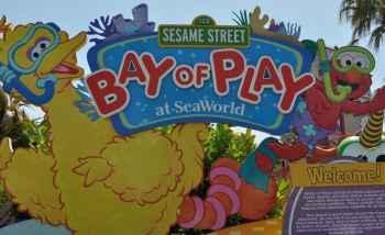 Sesame Street Bay of Play at SeaWorld San Diego