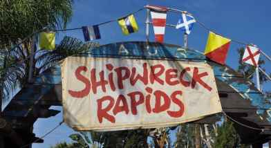 Shipwreck Rapids at SeaWorld San Diego