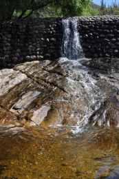 waterfall at Sabino Dam East