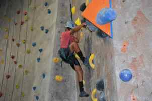 climber Rock and Rocks