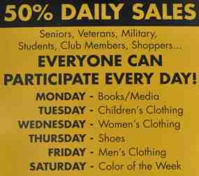 Daily Sales at InJoy Tucson